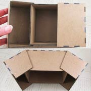 Split Front Box - Small
