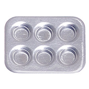 Silver Muffin Pan