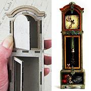 3D Grandfather Clock - 1:12 Scale