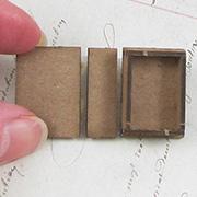 1 inch Faux Book Box