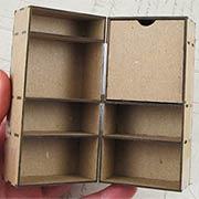 Chipboard Steamer Trunk - 4 Inch