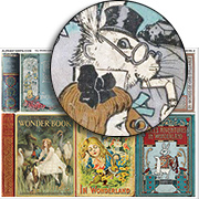 Alice Book Covers 2 Collage Sheet