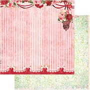 Heartland Scrapbook Paper - Red Rose Ball