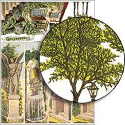 Balconies & Foliage Collage Sheet