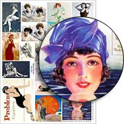 Beauties by the Sea Collage Sheet