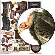 Buzzard Bed & Breakfast Collage Sheet