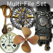 Steampunk Elements Set Download