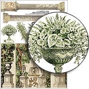 Garden Urns Collage Sheet