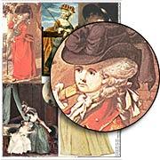 Georgian Fashion Collage Sheet