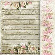 House of Roses on the Porch Scrapbook Paper