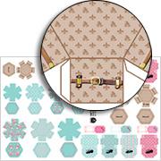 Half Scale Fashion Boxes Mini Sheet