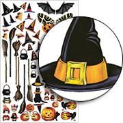 Halloween Dress Up Half Sheet