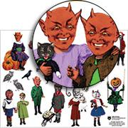 Little Demons Collage Sheet