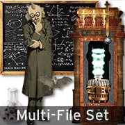 Mad Scientist Laboratory Digital Set Download
