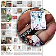 Miniature Fairy Godmother Magazines Collage Sheet