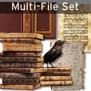 Old Books & Papers Digital Set Download