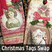 Christmas Tags Swap