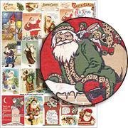 Santa is Outside Collage Sheet