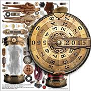 Time Machine Collage Sheet