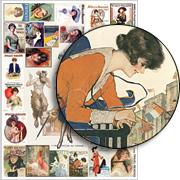 Travel Reading Collage Sheet