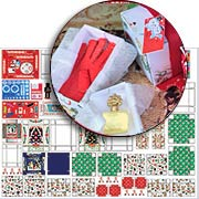 Under the Christmas Tree Collage Sheet