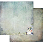 Tattered Garden Scrapbook Paper - Beauty