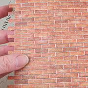 1:12 Brick Wall Sheet