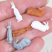 3/4 Inch Rabbits - Mixed Set