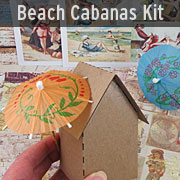 Vintage Beach Cabanas Kit - July 2016