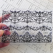Elegant Borders Clear Stamps Set