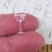 Miniature Cocktail Glasses w Stems