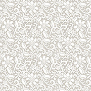 Floral Lace on Taupe Scrapbook Paper