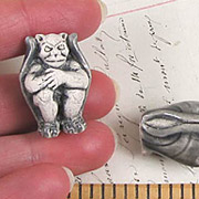Ceramic Gargoyle Bead