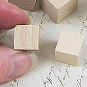 1/2 Inch Wooden Cube Blocks