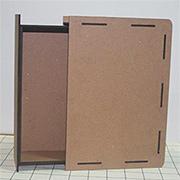 Hidden Drawer Book Box - Large Size