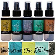 Lindys Stamp Gang Starburst Sprays - Industrial Chic Set