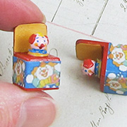 Mini Clown Jack-in-the-Box