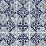 Large Blue Mosaic Scrapbook Paper