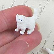 Micro Mini White Kitten