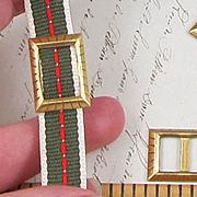 Small Rectangular Brass Buckle*
