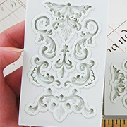 Silicone Mold - French Flourishes
