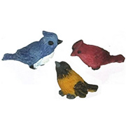 Song Birds - Set of 3