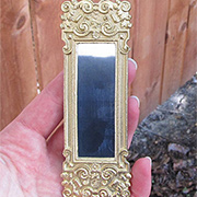 Tall Gold Ornate Mirror