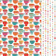 Paprika Scrapbook Paper - Tea for Two