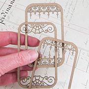 Altoids Tin Insert Frames - Wrought Iron